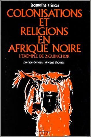 Colonisations et religions en Afrique noire pdf, epub ebook
