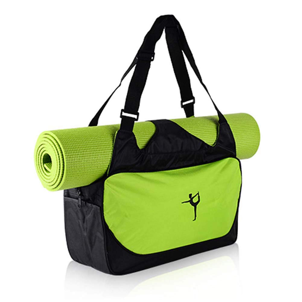 Amazon.com  DIBIO Yoga Mat Bag Waterproof Pockets Mat Strap Holder Pilates  Clothing Gym Accessories Carrier Women (Yoga MAT NOT Included)  Home    Kitchen eb14281d32