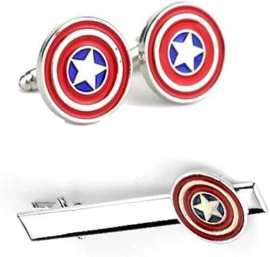 Capitán América Pin De Corbata Clip Bar Gemelos capitán américa ...