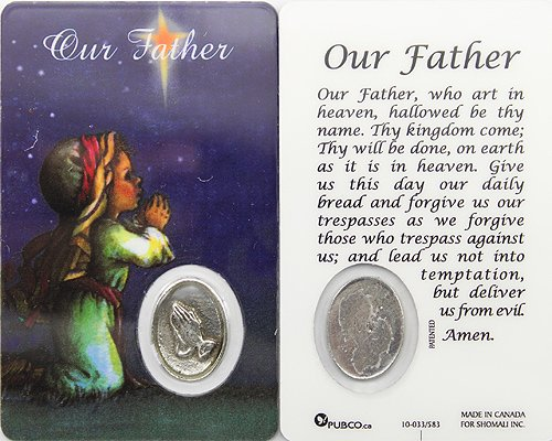 Children s Prayer Card of Lord s Prayer