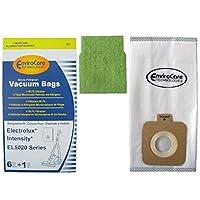 Electrolux Intensity EL5020 EnviroCare Aspiradoras /6 paquetes + 1 filtro de motor - Genérico