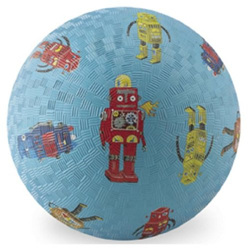 "Crocodile Creek 7"" Playball - Robots allover"