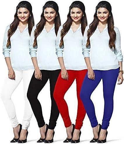 LUX LYRA Women's Cotton Chudidar Leggings (MF-93, Multicolour, Free Size)...