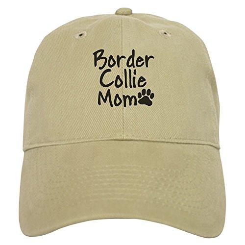 CafePress - Border Collie MOM Cap - Baseball Cap with Adjustable Closure, Unique Printed Baseball Hat