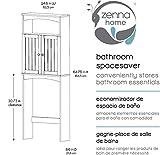 Zenna Home Toilet Bathroom Spacesaver