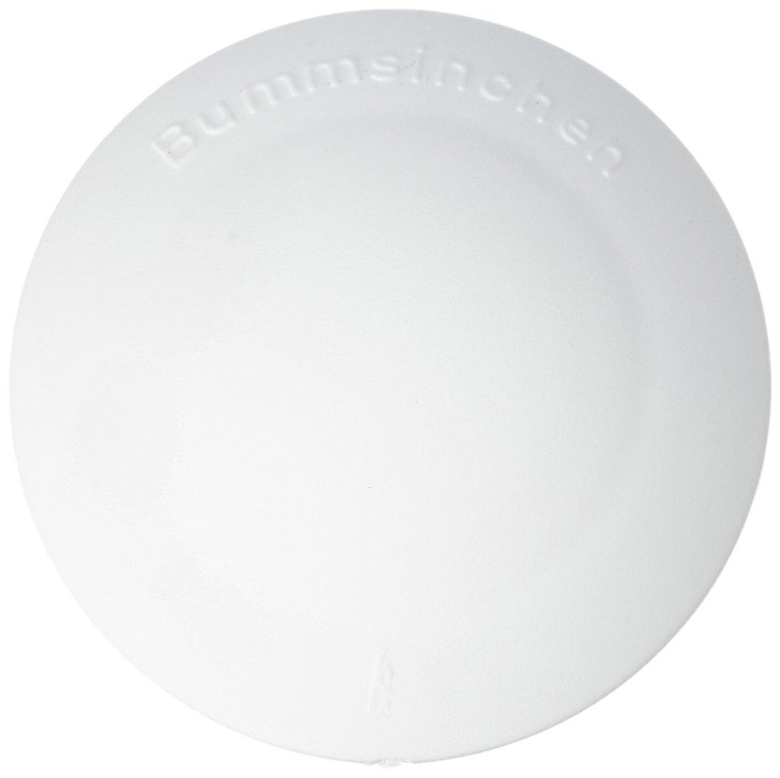 HSI 664176.0 T/ürstopper Halbkugel Kunststoff wei/ß 32mm 8 St St/ück