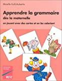 img - for Apprendre la grammaire d s la maternelle book / textbook / text book