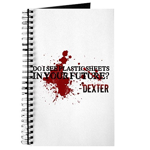 CafePress - Dexter - Spiral Bound Journal Notebook, Personal Diary, Task Journal