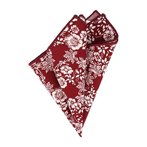 Snobbop Mouchoir bordeaux rouge