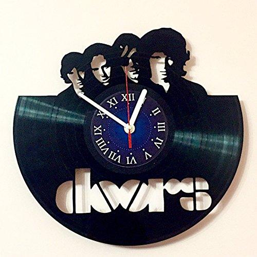 THE DOORS - rock band - Vinyl Record Wall Clock Rock Music B