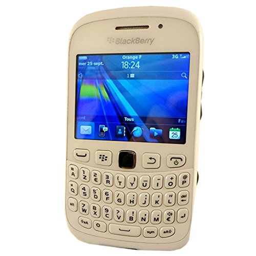BlackBerry Curve 9320 (AZERTY Keypad) REW71UW 512MB - (GSM Only, No CDMA) Factory Unlocked (Pure White) - International Version with No Warranty