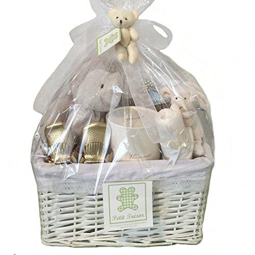 Trendy Baby Gift Baskets : Petit tresor exclusive baby gift basket boy newborn
