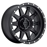 #9: Method Race Wheels The Standard Matte Black Wheel with Stainless Steel Accent Bolts (16x8