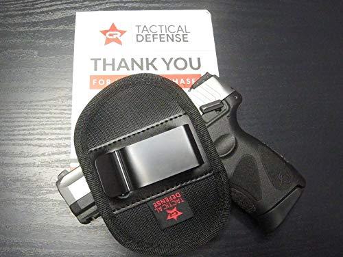 CR Tactical Defense Compact Gun Holster (Black, Small)