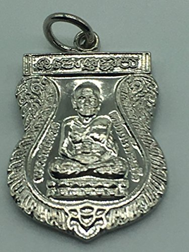 Seven One LUANG PU THUAT Thailand Buddha Monk Amulets Mini Holy Good Luck Rare(C)
