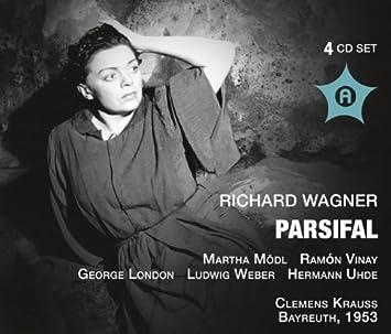 Wagner: Parsifal Clemens Krauss by Martha M??dl, George London, Josef Greindl, Lud Ramon Vinay : George London, Josef Greindl: Amazon.es: Música