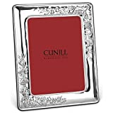 VINEYARD pure Sterling Silver luxe 8x10/7x9 frame by Cunill - 8x10