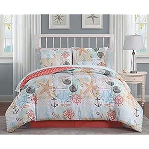 51CYT5AXYgL._SS300_ Coastal Comforters & Beach Comforters