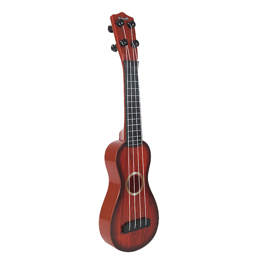 4 Saiten Musik Kunststoff-Spielzeug Ukulele Kleine Gitarre Fü r Anfä nger Kinder Kind Generic STK0157008760