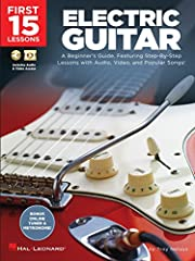 (Guitar Educational). The First 15 Lessons series provides a step-by-step lesson plan for the absolute beginner, complete with audio tracks, video lessons, and real songs! Designed for self-teaching or for use with an instructor, you'll build...