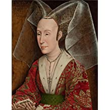 'Portrait Of Isabella Of Portugal, About 1450 By Workshop Of Rogier Van Der Weyden' Oil Painting, 10x13 Inch / 25x32 Cm ,printed On Perfect Effect Canvas ,this High Definition Art Decorative Canvas Prints Is Perfectly Suitalbe For Laundry Room Decoration And Home Gallery Art And Gifts