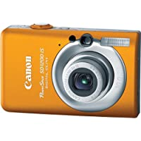 Canon PowerShot SD1200IS 10 MP Digital Camera with 3x Optical Image Stabilized Zoom and 2.5-inch LCD (Orange) Benefits Review Image