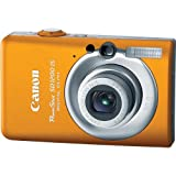 Canon PowerShot SD1200IS 10 MP Digital Camera with 3x Optical Image Stabilized Zoom and 2.5-inch LCD (Orange) For Sale