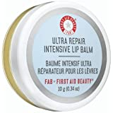 First Aid Beauty Ultra Repair Intensive Lip Balm: Honey Lip Balm to to Repair Dry, Chapped Lips. Made with Propolis Extract a