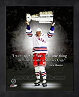 Mark Messier New York Rangers Pro Quotes Framed 8x10 Photo #2