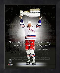 Mark Messier New York Rangers Pro Quotes Framed 11x14 Photo #2