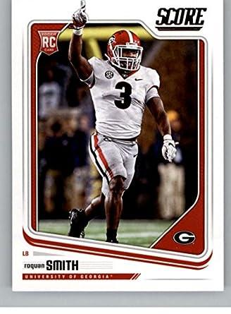 5c678655b7e Amazon.com: 2018 Score #342 Roquan Smith Georgia Bulldogs Rookie RC ...