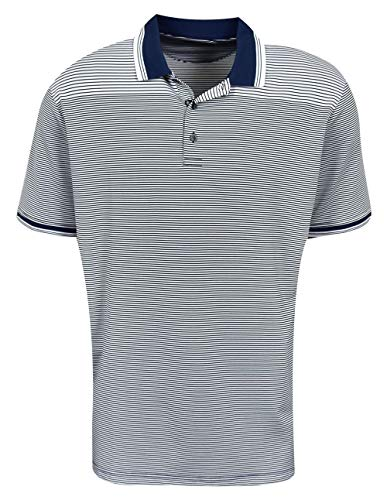 Jack Nicklaus Golf 2-Color Stripe Polo Black Label (Jack Nicklaus Golden Bear Golf Clubs Review)