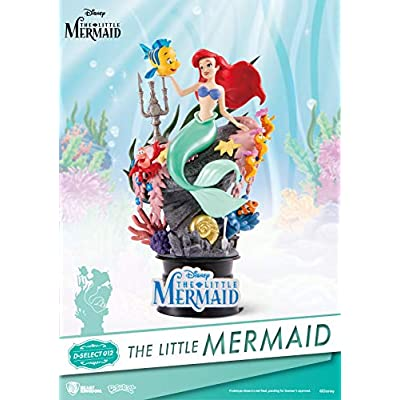 Beast Kingdom The Little Mermaid Ds-012 D-Stage Series Statue: Toys & Games