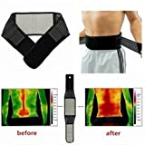 Tourmaline Magnetic Therapy Lower Back Waist Support Belt Self Heating Backache Pain Relief by Abcstore99 (L)