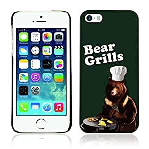 phone covers Colorful Printed Hard Protective Back Case Cover Shell Skin for Apple iphone 4 4s ( Bear Grylls )