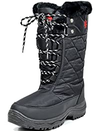 Women's Faux Fur Lining Winter Snow Boots
