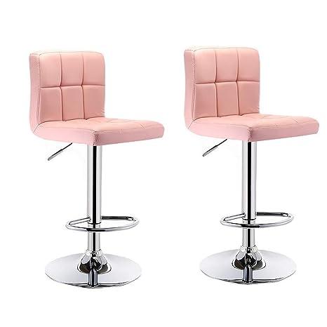 Amazon.com: Taburete de bar, silla de bar, silla de contador ...