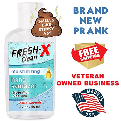 Stinky Ass Hand Sanitizer Prank - 2 oz - Looks Normal But Smells Like Ass - Real Hand Sanitizer - Smells Gross - Funny Gag - Great New Prank - Guaranteed Laughs by Stinky Ass (Image #3)