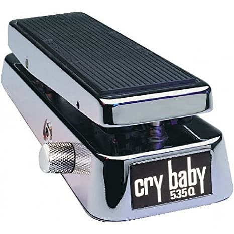 Jim Dunlop Cry Baby 535Q Multi-Wah Pedal, Chrome 535QC