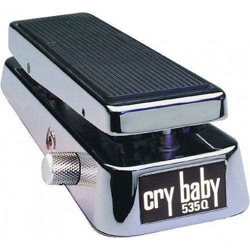Clyde Mccoy Wah Pedal - Dunlop 535Q Cry Baby Multi-Wah, Chrome