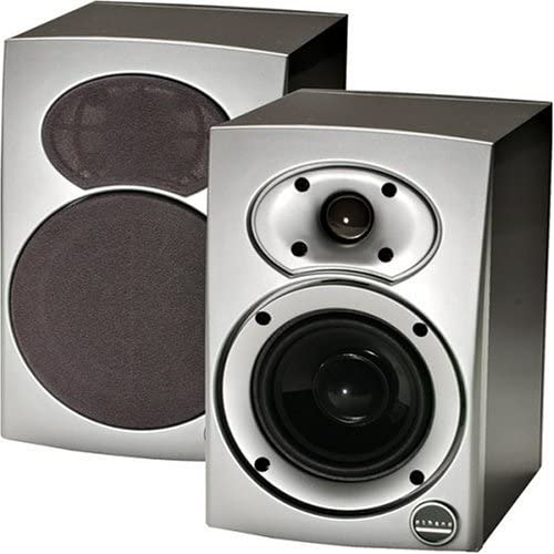 Athena S.5 Bookshelf Speaker- Single Unit Silver Black Discontinued by Manufacturer