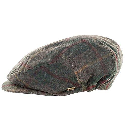 Mucros Weavers Men's Irish Made Kerry Wax Cap by (M, Tartan Green) price tips cheap