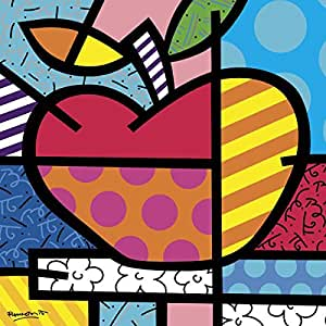 The Picture Peddler Inc. El Apple de Romero Britto Frutas
