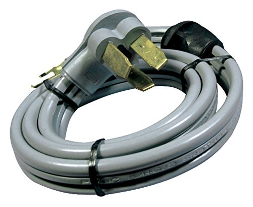 Certified Appliance Accessories 3-Wire Quick-Connect Open-Eyelet 50-Amp Range Cord, 4ft