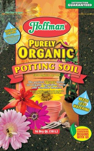 Hoffman 12520 Organic Potting Soil, 16 Quarts