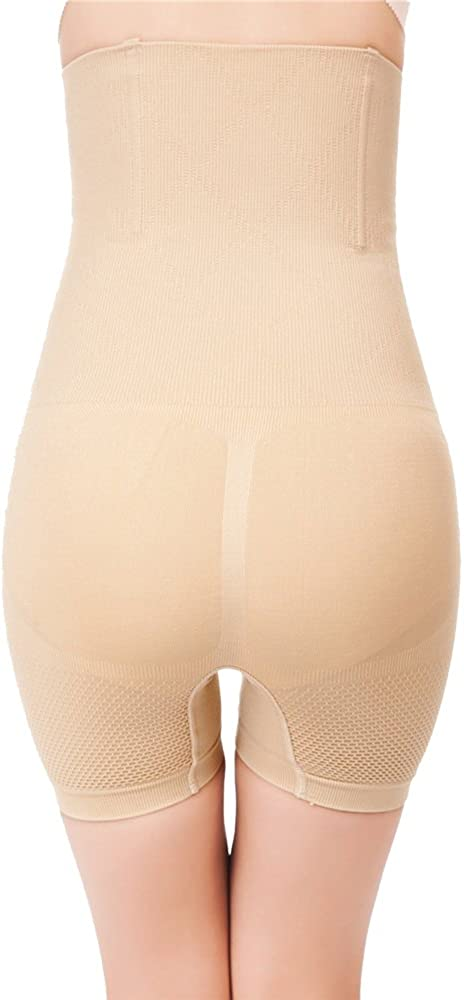 ROBERT MATTHEW Womens Shapewear Tummy Control Shorts Brilliance High-Waist Panty Mid-Thigh Body Shaper Bodysuit at  Women's Clothing store