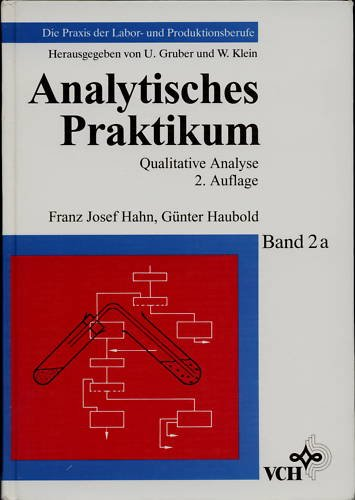 Analytisches Praktikum: Qualitative Analyse