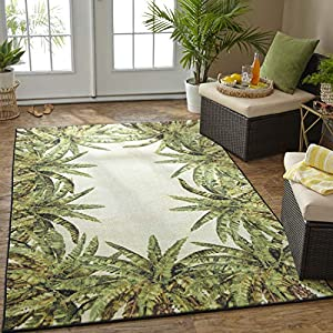 51CYYXX-HVL._SS300_ Best Tropical Area Rugs
