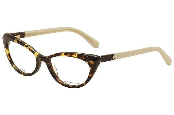 454fed82e6 Eyeglasses Kate Spade Analena 0W79 Tortoise at Amazon Men s Clothing ...