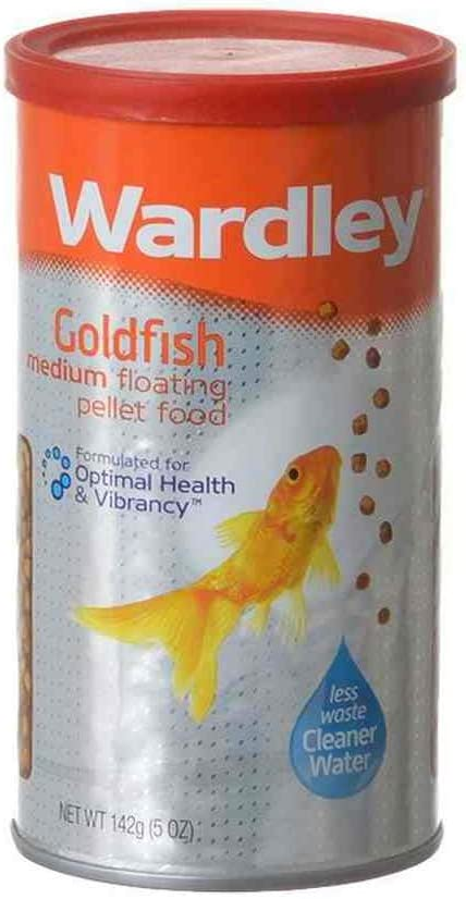 Wardley Goldfish Floating Pellets for Fish and Aquatic, Size: 5 Ounce